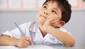 child-writing-story